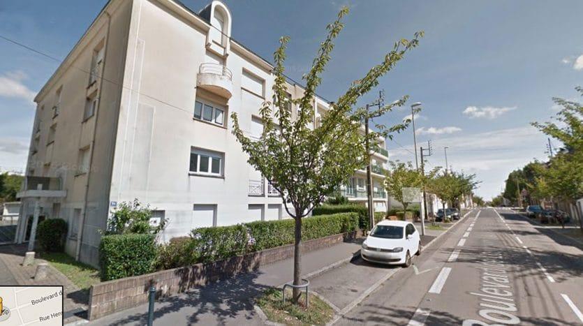 Studio à vendre - boulevard de Longchamp à Nantes