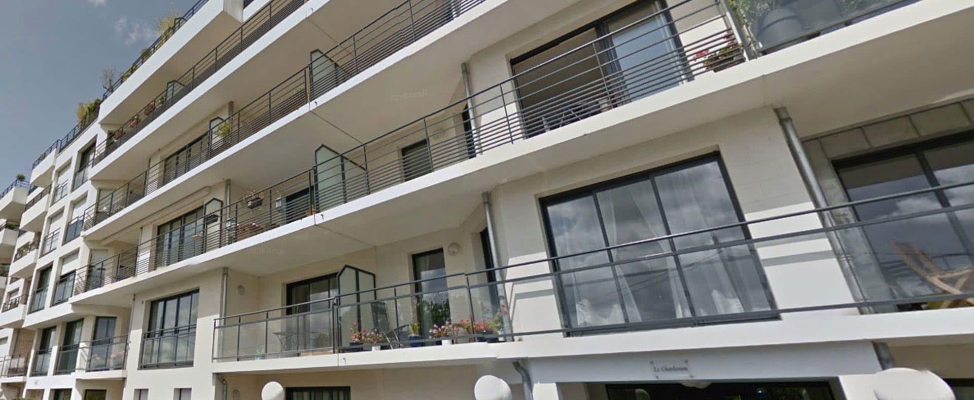 Appartement T3 dans immeuble de standing sur les bords de l'Erdre