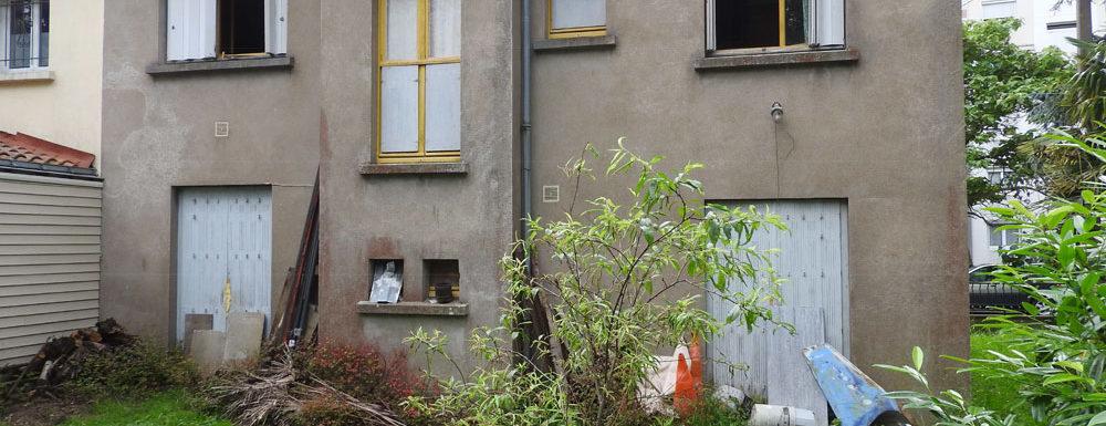 Maison nantaise en vente rue de Jamet