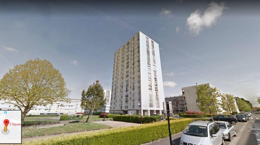 Appartement T3 en vente judiciaire à Nantes
